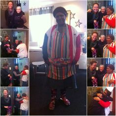 After her shoes got drenched in the rain, Nicky-anne took the liberty of buying her wellingtons I♥MyHood