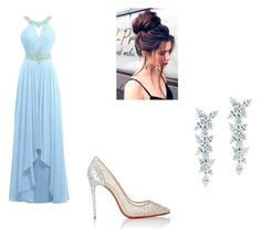 """""""Untitled #197"""" by chuchu-cli on Polyvore featuring Christian Louboutin and Tiffany & Co."""
