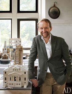 Timothy Richards Creates Artful Architectural Models : Architectural Digest