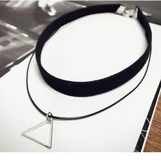 2017 Women Jewelry Korean Triangle Pendant Leather Strap Necklace Chokers Necklace Gold Plated Statement Ladies Link Necklace //Price: $7.95 & FREE Shipping // Get it here ---> https://bestofnecklace.com/2017-women-jewelry-korean-triangle-pendant-leather-strap-necklace-chokers-necklace-gold-plated-statement-ladies-link-necklace/    #Necklace