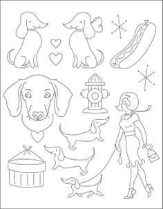 SMALL PACK Embroidery Patterns