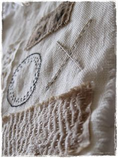 Fabric collage by peregrine blue flickr