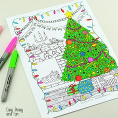 Coloring-Page-Christmas