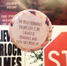 Romancless 2.5 Inch Pinback Button by SarcasticSister on Etsy