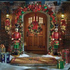 Santa's front door