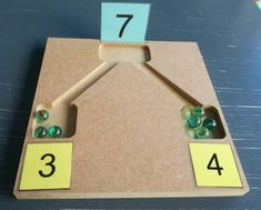 DESCRIPTION:Game related to math. Preschool Learning Activities, Math Classroom, Kindergarten Math, Learning Centers, Learning Resources, Math Centers, Preschool Activities, Kids Learning, Number Activities