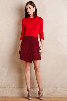Layered Wrap Skirt - #anthroregistry