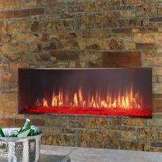 Learn about the Lanai Gas Fireplace from Heat & Glo which can add a special style to your home. Natural Gas Fireplace, Outdoor Gas Fireplace, Linear Fireplace, Fireplace Inserts, Outdoor Rooms, Outdoor Living, Outdoor Decor, Outdoor Ideas, Fireplaces For Sale