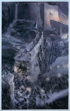 Helm's Deep by Alan Lee