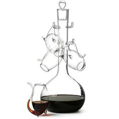 Check this out! The Kitchen Gift Company have some great deals on Kitchen Gadgets & Gifts Port Decanter Set With 4 Port Sipper Glasses Port Glasses, Christmas Gifts For Grandma, Bar Gifts, Liqueur, Boxes For Sale, Bar Accessories, Smart Design, Fine Wine, Wine Decanter