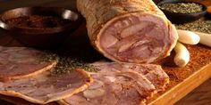 Arrollado de Cerdo - Mailbox Tutorial and Ideas Chilean Recipes, Chilean Food, European Cuisine, Spanish Cuisine, Comida Latina, Main Menu, Recipe For Mom, Sausage Recipes, Paleo Diet