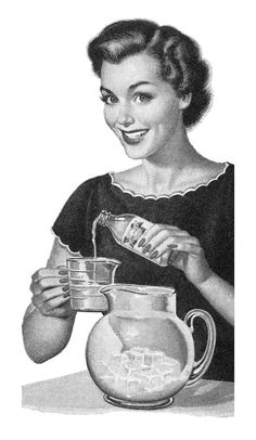 Detail from a 1952 California Lemon Juice ad | Flickr - Photo Sharing!