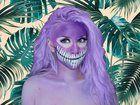 [self] dota 2 dazzle facepaint cosplay (press imgur link for info)