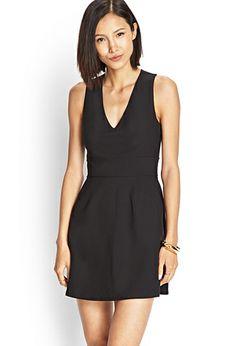e0dc2b2fc1 Crossback Pocket Dress | FOREVER 21 - 2000107399. $20 Black Dress With  Pockets, Hair