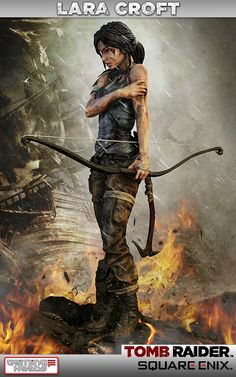 [Gaming Heads] Tomb Raider: Lara Croft Survivor Statue - LANÇADA!!!