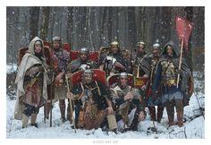 Winter patrol. Legio XXI Rapax