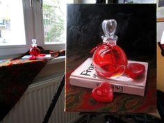 painting at home:)   StillLove by Klara Sedlo  #klarasedlo #symbolism #darkart #darkpainting #mysticalpainting #snake #heart #hearts #portrait #oilpainting