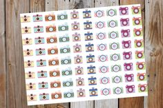 Camara Planner Stickers Youtube Stickers by GraceDesignsStore