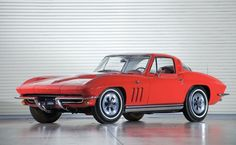 1965 Chevrolet Corvette 396V8 425HP Coupe. Mighty good year, yes, a mighty good year.