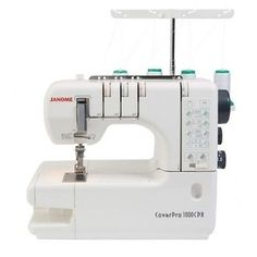 Рriсе - $599.00. Janome Sewing Machine 1000 CPX Cover Pro Coverhem New + BONUS KIT ( Brand - Janome, Model - 1000 cpx, Type - Mechanical Sewing, MPN - 1000cpx, UPC - 5027843200065    )