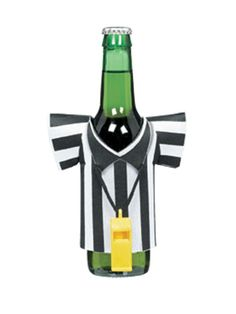 Keep your drink cold while also letting everyone at the #SueprBowl party know who's referee! #hgtvmagazine http://www.hgtv.com/entertaining/host-a-winning-super-bowl-party/pictures/page-6.html?soc=pinterest