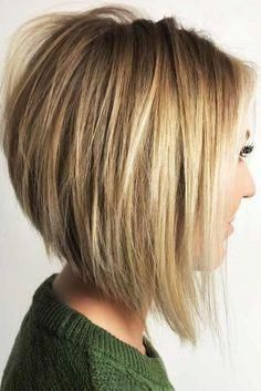 45 Edgy Bob Haircuts To Inspire Your Next Cut My Bob Hair Hair . 45 Edgy Bob Haircuts To Inspire Your Next Cut my Bob hair Hair inverted bob hairstyles - Bob Hairstyles Inverted Bob Hairstyles, Long Bob Haircuts, Hairstyles Haircuts, Haircut Long, Back Of Bob Haircut, Graduated Bob Haircuts, Bob Hairstyles For Thick Hair, Short Graduated Bob, Stacked Bob Hairstyles