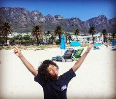 Einfach nach der Schule direkt an den Strand #campsbay #capetown #beach #atlantic by suse.anne http://ift.tt/1ijk11S