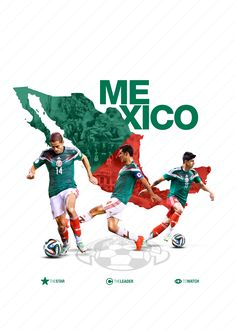 5000f1d20a9 MEXICO TEAM POSTER Brazil World Cup, World Cup 2018, Mexico World Cup, Fifa