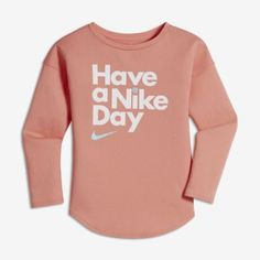 Find the Nike Little Kids' (Girls') Long Sleeve T-Shirt at Nike.com.  Enjoy free shipping and returns with NikePlus.