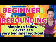 Mini Trampoline Workout, Rebounder Trampoline, Indoor Trampoline, Toning Workouts, Rebounder Workout, At Home Workouts, Breakfast Smoothies For Weight Loss, Fitness Workout For Women, Easy Weight Loss