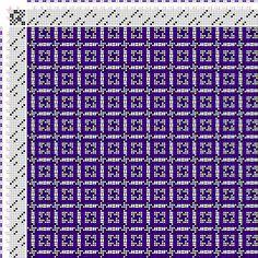 draft image: Figurierte Muster Pl. XXIX Nr. 1 (b), Die färbige Gewebemusterung, Franz Donat, 8S, 8T