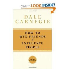 How To Win Friends and Influence People by Dale Carnegie This book is about self discovery and human nature. This book changed my perception Good Books, Books To Read, My Books, Reading Lists, Book Lists, Reading Books, Motivational Books, Inspirational Books, How To Influence People