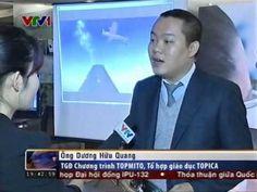 TOPMITO và Ông Nguyễn Long - Tổng Thư ký Hội tin học Việt Nam trên VTV1 (thời sự 19h)