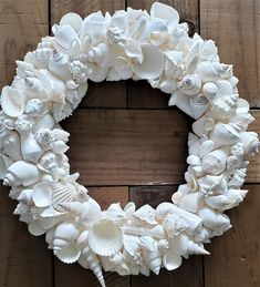 Your place to buy and sell all things handmade Driftwood Wreath, Seashell Wreath, Seashell Art, Seashell Crafts, Beach Crafts, Seashell Projects, Beach Wedding Gifts, Beachy Colors, Shell Decorations