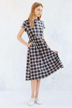 Cooperative Mary Jane Midi Shirt Dress