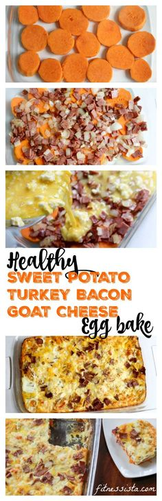 Healthy egg casserole recipe! A delicious breakfast or lunch recipe you can make in advance for the week