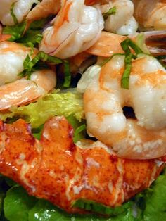 Chef Bolek: Lobster and Shrimp Salad with an Albariño Citrus Dressing
