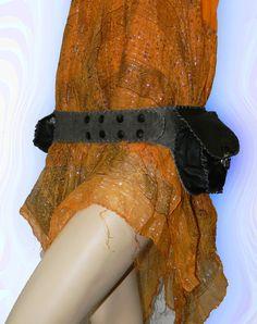 Waist Purse  Burning man  Belt Pouch  Festival belt  от Brahmawear