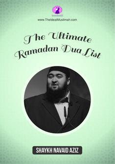 Ultimate Ramadan Dua List
