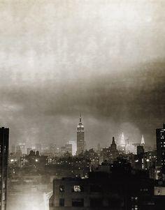 Gloomy skyline