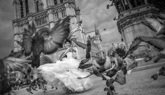 MOVEMENT AND MOTION. Love B pictures and on this on in particular. The bride's expression! Photo by Fan Yuanyaun. Young Vision photography