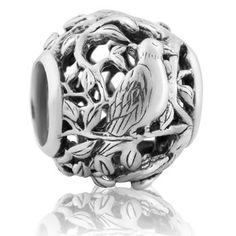 Majestic Tui (Confidence) NZ Silver Bracelet Charms - evolve-jewellery.co.nz