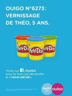 « Ouigo N°6273 : vernissage de Théo, 5 ans. » by Ouigo et Hasbro