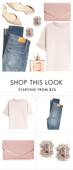 """""""Untitled #1217"""" by kaymeans ❤ liked on Polyvore featuring Brunello Cucinelli, Citizens of Humanity, Paul Andrew, Sasha and Chanel"""
