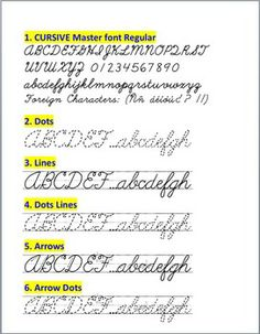 With this collection of 6 cursive style family fonts, specially designed for teachers, you can easily create hundreds of handwriting, spelli...
