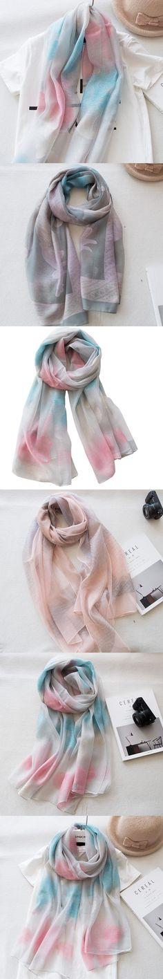 200*80 CM 2017 NEW Spring High quality  Design Women scarves elegant embroidered art simple soft Female silk scarf warm shawl
