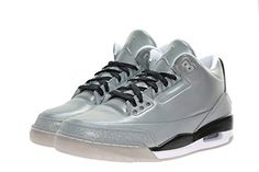 Nike Air Jordan 3 III 5lab3 Retro Size 9.5 631603-003 Reflective Silver *** More info could be found at the image url.