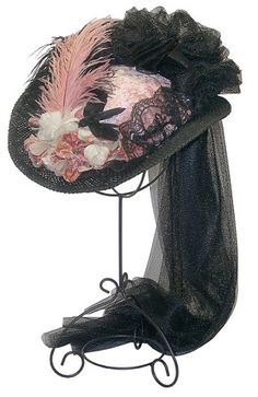 19th Century French Victorian Hat of the Old West