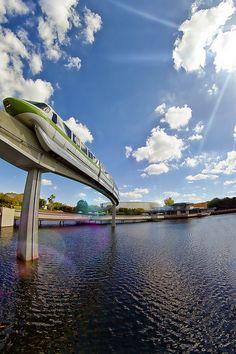 Ride in a monorail~Already done, but want to do again! Disney World Florida, Disney World Parks, Disney World Resorts, Disney Vacations, Tokyo Disneyland, Disneyland Rides, Disney Magic, Disney Disney, Disney Stuff