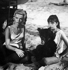 Marta Kristen and Angela Cartwright from Lost in Space